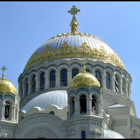 Купола Морского собора в Кронштадте :: Наталья
