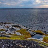 Белое море  , вид с острова Боршовец :: Валентина Папилова
