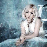 белая лебедь... :: Oksana Likhadziyeuskaya