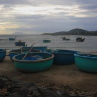 Круглые вьетнамские лодки :: Татьяна Панчешная