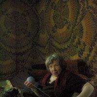 портрет с клубком (в цвете) :: Бармалей ин юэй