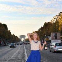 На Елисейских полях ... :: Фотограф в Париже, Франции Наталья Ильина