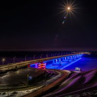 Какая яркая Луна! :: Андрей Поляков