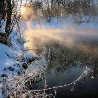 Февральский закат.... :: Андрей Войцехов