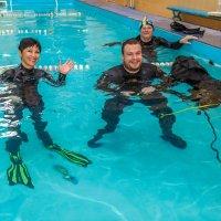 Испытатели подводной инвалидной коляски. :: Андрей Lyz