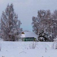 Зимние сумерки :: Владимир Лазарев