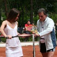 Уроки тенниса Заури Абуладзе :: Заури Абуладзе