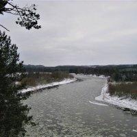 Зимний день на реке Нерис (Литва) :: spm62 Baiakhcheva Svetlana