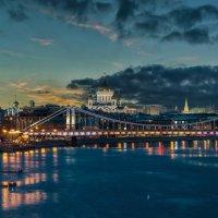 Москва. Крымский мост. :: Борис Гольдберг