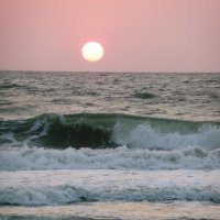 Закат на Индийскои океане :: Ольга Васильева
