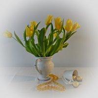 """""""... дарите жёлтые тюльпаны - Превращая серость будней в сказку!!!..."""" :: Galina Dzubina"""