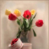 Тюльпаны....маме... :: Людмила Богданова (Скачко)