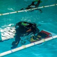 Испытатели подводной инвалидной коляски Игоря Скикевича :: Андрей Lyz