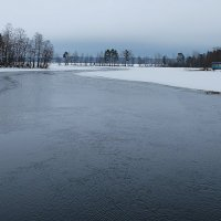 Река, февраль... :: Олег Гаврилов