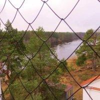 Вид с колокольни церкви. :: ВАЛЕНТИНА ИВАНОВА