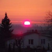 заход солнца :: Анфиса Новикова