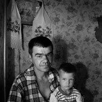Отец и сын. :: Александр Макаренко