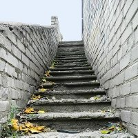 Старая лестница. :: Александр Бурилов