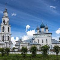 Успенская церковь Тетеринской пустыни :: Антон Лебедев
