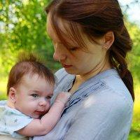 с мамой :: Юля Ларина