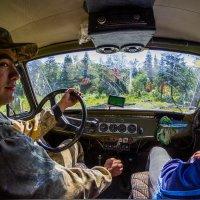 на УАЗе по лесу Руси :: Роман Яхин