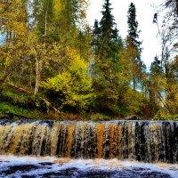 Водопад на реке Прикша. :: Константин Иванов