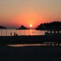 Закат в Дивноморске :: Marina Led