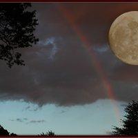 Луна и радуга :: Яков Геллер