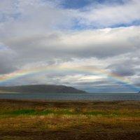 Радуга над фьордом #2. Исландия :: Олег Неугодников