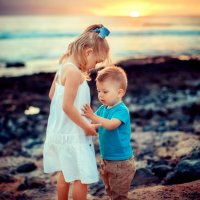 Детки - брат и сестра :: Марина Зотова