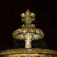 Ночной фонтан :: юрий Амосов