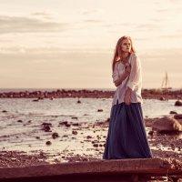 Лето, пляж, закат :: Луиза Смирнова
