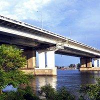 Мост на левый берег :: Алексей Лебедев