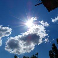 Солнце на голубом Небе! :: Александр Маркин
