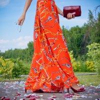 Ступать по лепесткам роз каблучками... Особое ощущение для Женщины ;) :: 2903 nika