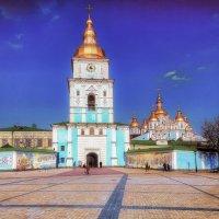 Киев, Михайловский Златоверхий Собор и монастырь. :: Вахтанг Хантадзе