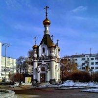 Часовня Святой Екатерины на площади Труда. :: Пётр Сесекин