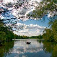 Уплывая в Весну :: Vera Ostroumova
