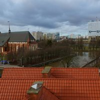 Вид на Кафедральный собор и Дом Советов. :: Alex