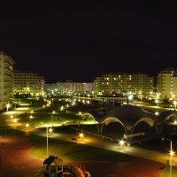 Ночь в Олимпийском парке :: Валерий A.