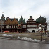 Дворец царя Алексея Михайловича в Коломенском. :: Александр Качалин