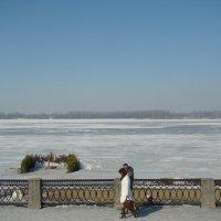 В марте на Волге-и купания и свидания :: марина ковшова
