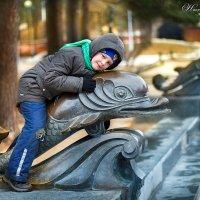 На дельфинчике... :: Надежда Подчупова