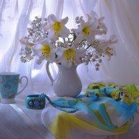 Нежность белых лилий... :: Валентина Колова