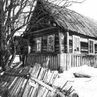 Избушка в Соловках :: Елена Решетникова