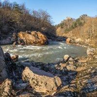 Весна в Адыгее.Река Белая. :: anatoly Gaponenko