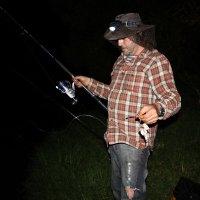 Ночная рыбалка :: Вадим Кнушевицкий