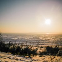 Амур во льдах :: Виктор