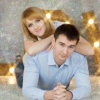 Солнечные зайчики в глазах влюблённых... :: Oksana Likhadziyeuskaya