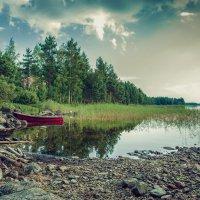 У озера :: Виктор Харьковский